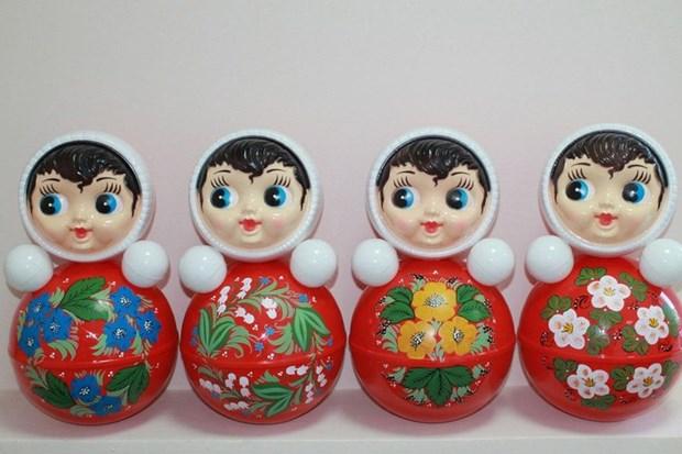 俄罗斯向越南出口总价值超过130万美元的套娃 hinh anh 1
