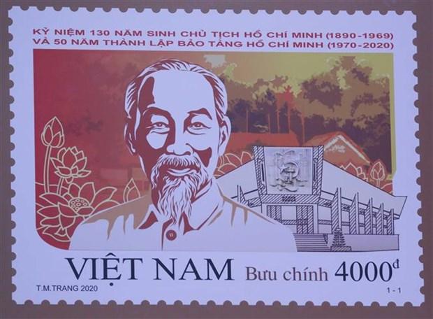 越南政府总理签发纪念胡志明主席诞辰130周年的邮票 hinh anh 2