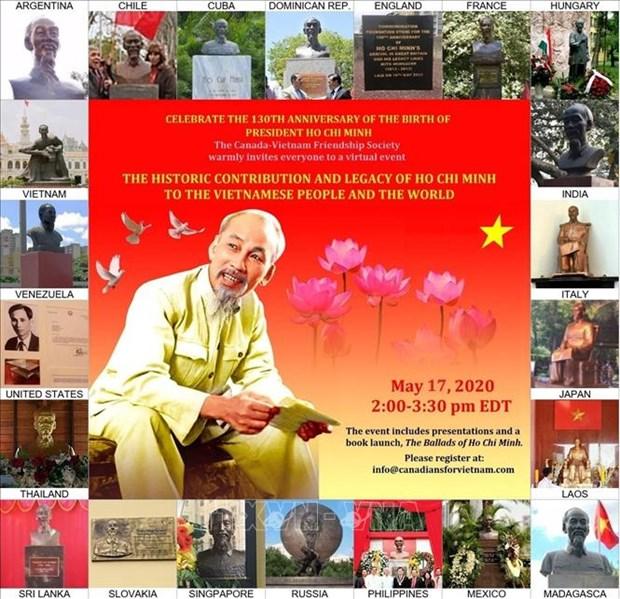 胡志明主席诞辰130周年:胡志明之歌在加拿大响起 hinh anh 1