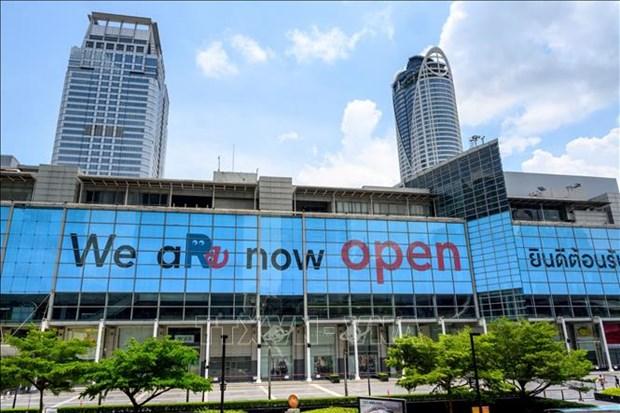 泰国恢复购物中心的营业 hinh anh 1