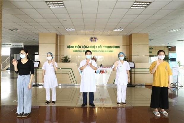 越南新增三名新冠肺炎确诊患者治愈出院 hinh anh 1