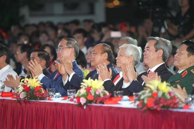 """纪念胡志明主席诞辰130周年:""""胡志明——闪光的越南意志"""" hinh anh 1"""