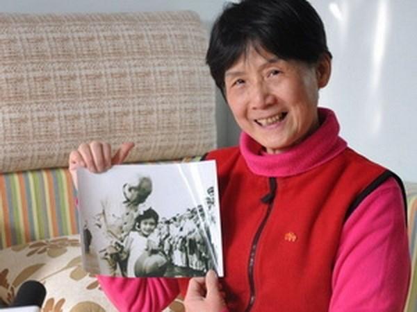 五岁中国小女孩第一次见到胡伯伯的难忘回忆 hinh anh 2