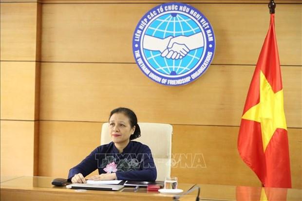 东盟与中国民间友好组织领导人特别视频会晤以视频方式召开 hinh anh 2