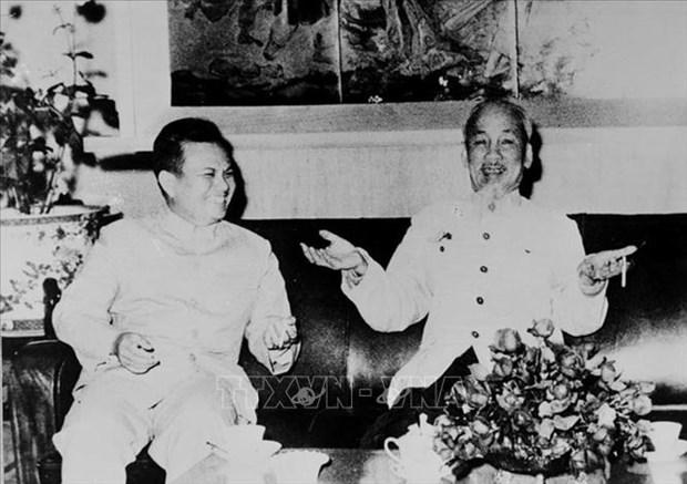 胡志明的建议对老挝革命事业依然有价值 hinh anh 1