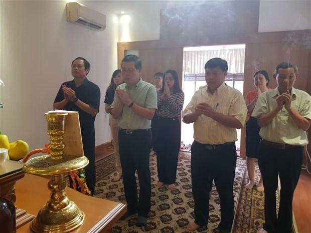 胡志明主席诞辰130周年:越南驻缅甸大使馆举行纪念活动 hinh anh 2