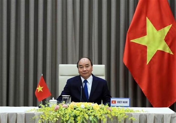 越南政府总理阮春福出席第73届世界卫生大会视频会议并发表讲话 hinh anh 1
