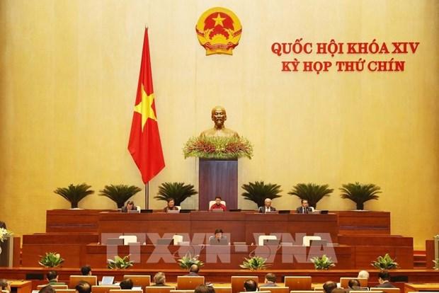 越南第十四届国会第九次会议:建议早日解决五大问题 hinh anh 1