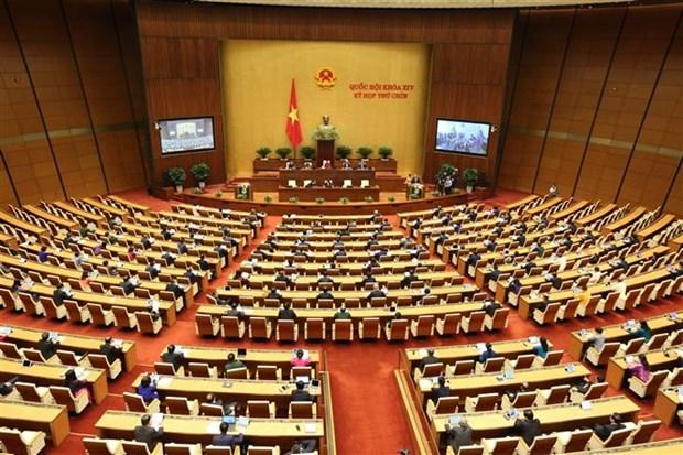 第十四届国会第九次会议开幕: 为国家度过困难 向前迈进注入动力 hinh anh 1