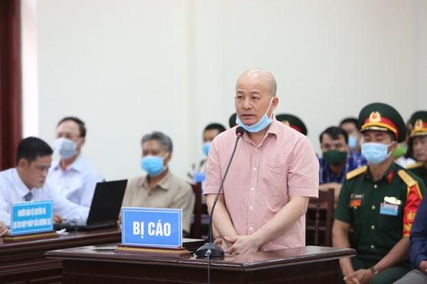 丁玉系及其同案犯案件:阮文献被建议刑量3到4年 hinh anh 1