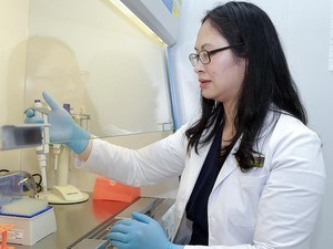岘港市女博士研制的多级水过滤器为社区做出贡献 hinh anh 1