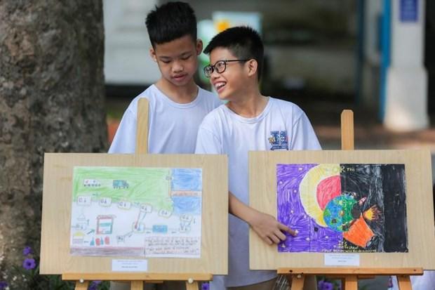 越南年轻一代齐心协力保护环境 hinh anh 1