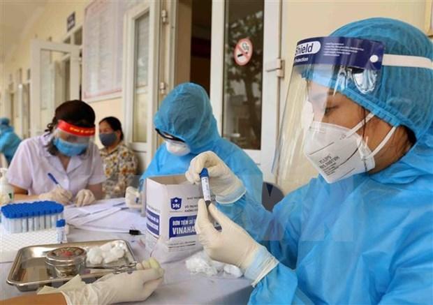 新冠肺炎疫情:越南全国324例患者中的60例继续接受治疗 hinh anh 1