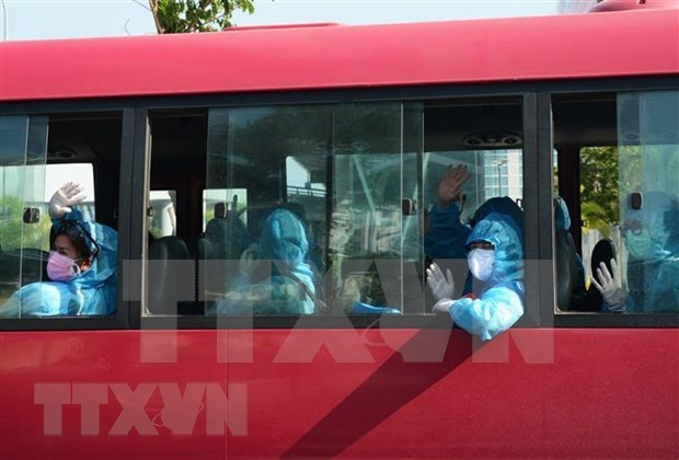 近240名在缅越南公民安全回国 hinh anh 1