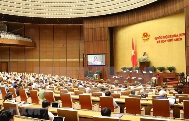 越南十四届国会第九次会议:讨论两部法案 hinh anh 1