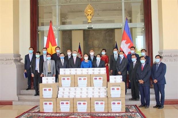柬埔寨对越南国会捐赠防疫物资表示感谢 hinh anh 2