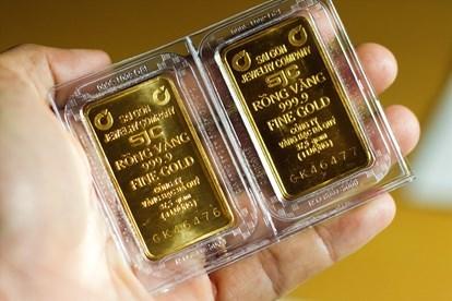 5月22日越南国内黄金价格继续下调 hinh anh 1