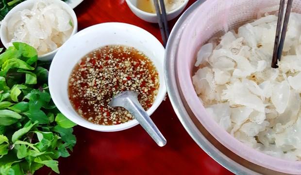 明州岛乡的美食:水母沙拉 hinh anh 2