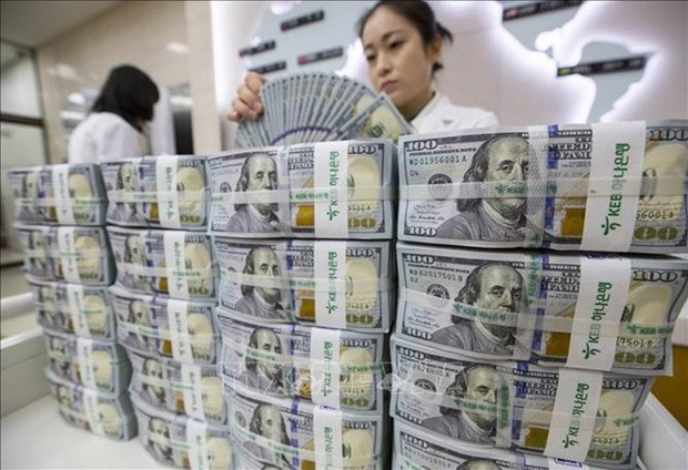 5月22日越盾对美元汇率中间价上调5越盾 hinh anh 1