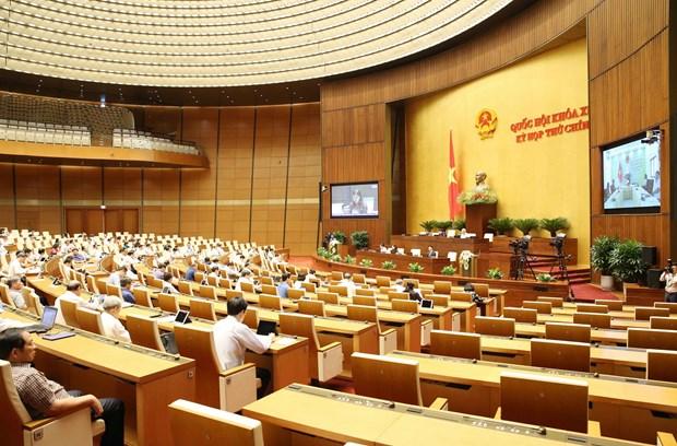 越南第十四届国会第九次会议公报(第三号) hinh anh 1