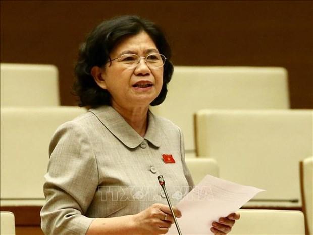 越南第十四届国会第九次会议:讨论试点组织岘港市城市政府模式的决议草案 hinh anh 1