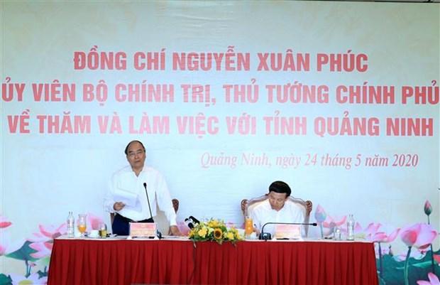 越南政府总理阮春福:广宁省应打造尖端旅游产业 hinh anh 1