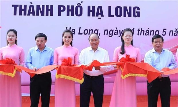 越南政府总理阮春福:广宁省应打造尖端旅游产业 hinh anh 3