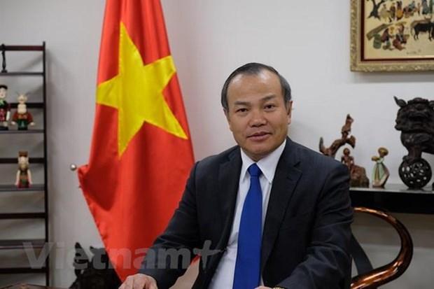 武洪南大使:越南与日本在新冠肺炎疫情防疫工作中紧密合作 hinh anh 1