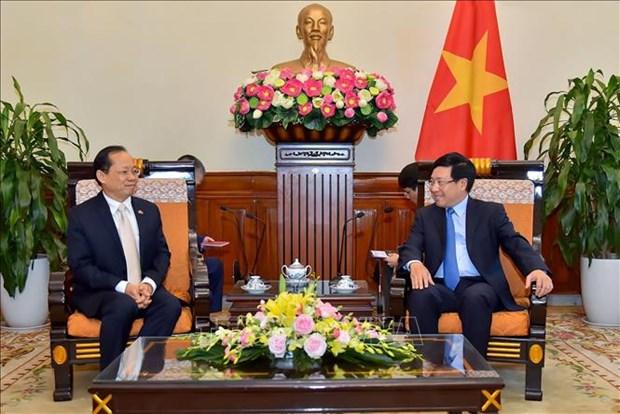 范平明副总理:越南一直重为与柬埔寨的合作关系给予优先 hinh anh 1