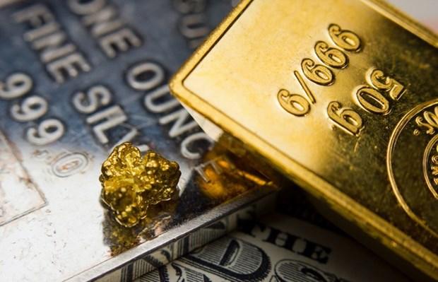 5月27日越南国内黄金价格下降10万越盾以上 hinh anh 1