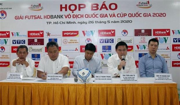 2020年HDBank国家室内五人制足球锦标赛将于6月1日启动 hinh anh 1