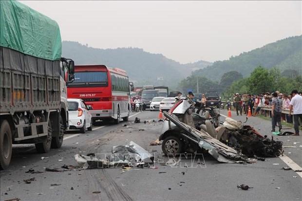 2020年前5月越南因交通事故死亡人数为2667人 hinh anh 1