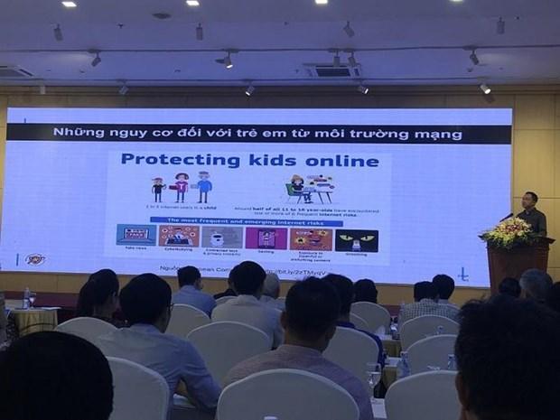 保护与协助儿童在网络环境里健康成长、创新互动 hinh anh 1