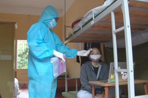 越南无新增社区传播病例 又一名患者治愈出院 hinh anh 2
