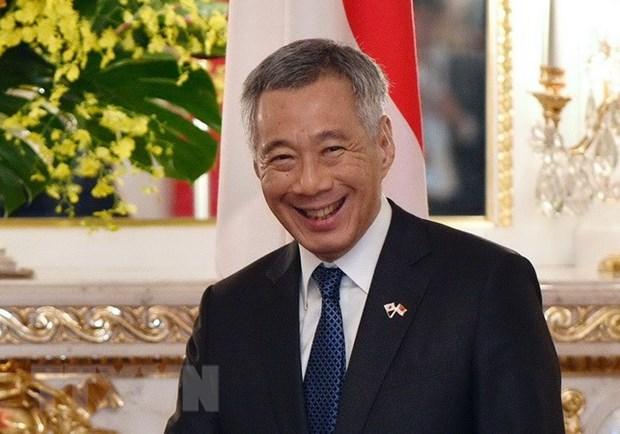 新加坡总理对越南赠送的医疗设备表达谢意 hinh anh 1