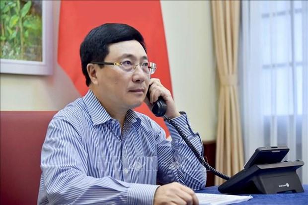 越俄两国外长通电话 讨论推进双方合作措施 hinh anh 1