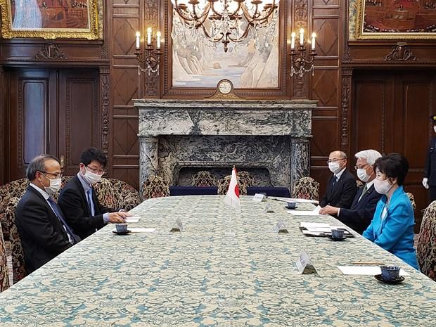 日本参议院议长高度评价越南人民在疫情阻击战中的同心协力 hinh anh 1