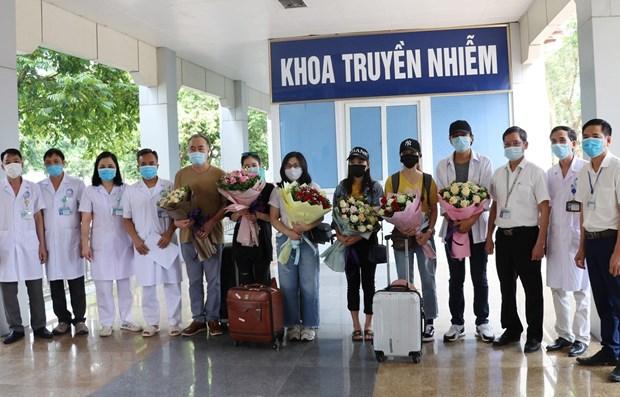 越南无新增社区传播病例 又一名患者治愈出院 hinh anh 1