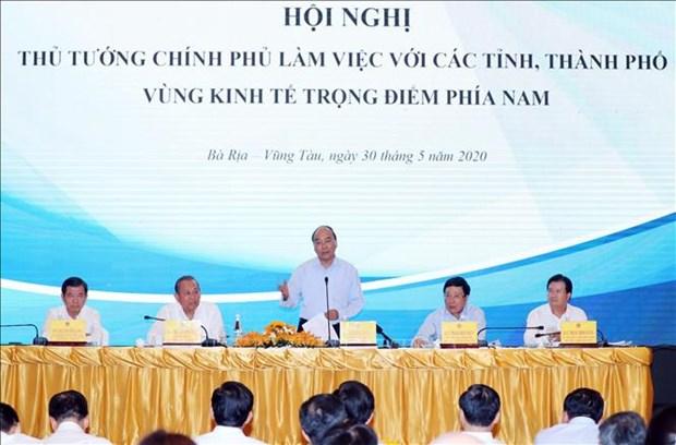阮春福总理:研究制定重点经济区的特殊机制 hinh anh 1