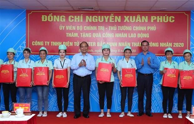 越南政府总理阮春福:北宁省要着手落实稳生产、保防疫的双重目标 hinh anh 2