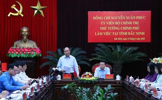 越南政府总理阮春福:北宁省要着手落实稳生产、保防疫的双重目标 hinh anh 1