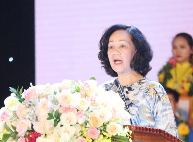 2020年第四届全国践行胡伯伯教诲先进青年表彰大会在乂安省举行 hinh anh 2