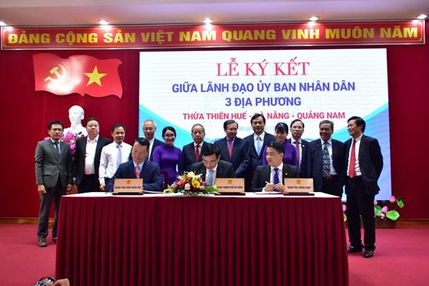 越南中部三个省市联手推动旅游业发展 hinh anh 2