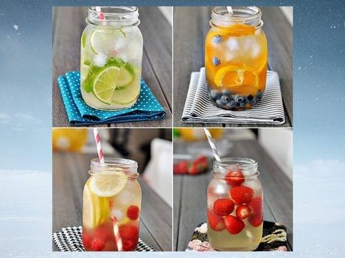 清凉饮品在炎热夏天里深受消费者的欢迎 hinh anh 1