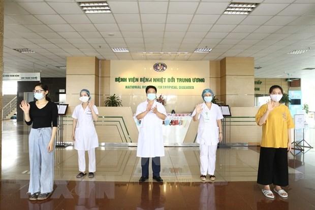 越南新增5例康复患者 30名患者仍留医 hinh anh 1