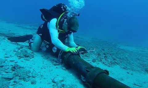 AAG海底电缆检测到新故障 hinh anh 1