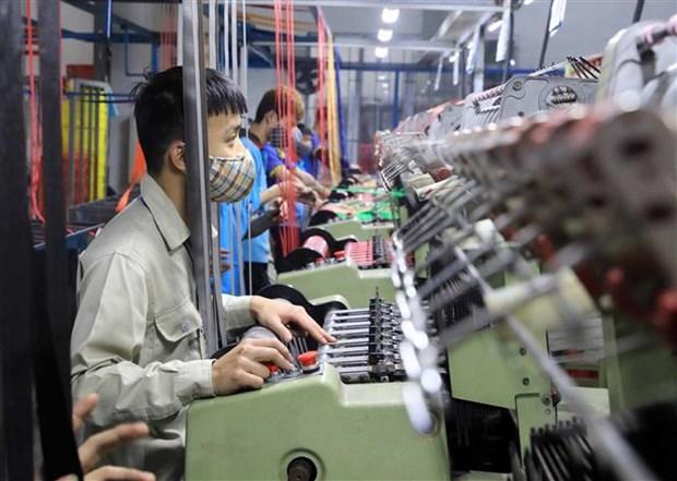 5月份全国工业生产增速回升 hinh anh 1