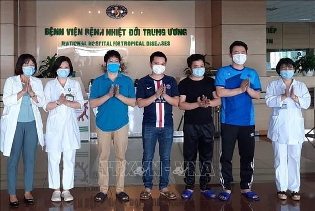 新冠肺炎疫情:6月2日下午越南91%患者被治愈 hinh anh 1