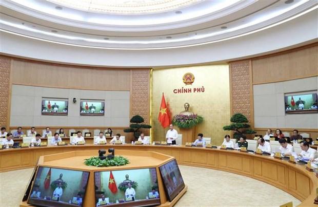 越南政府总理阮春福:最大限度完成2020年国家目标计划 hinh anh 2