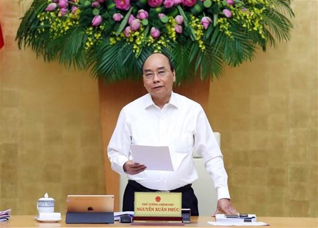 越南政府总理阮春福:最大限度完成2020年国家目标计划 hinh anh 1